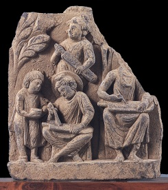 ©Gandharan Buddhist Sculpture and the Peoples of the Silk Road: The Hirayama Ikno Collection, ed. by The institute of Silk Road Studies, Katsumi Tanabe, Asahi Shimbun 2003, 41, cat. no. 61